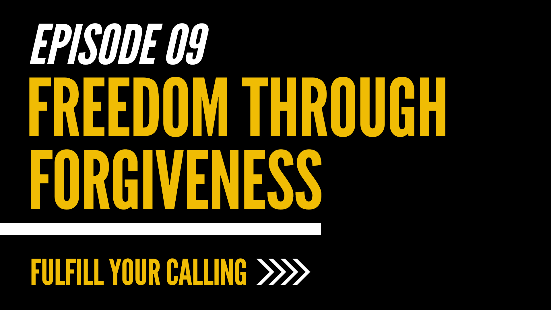 How to Fulfill Your Calling - Episode 9 with David Steele