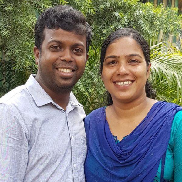 Frigi and Sinimol Raj